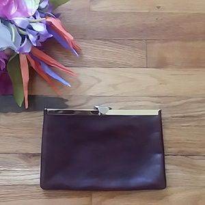 VINTAGE Etra Genuine Leather Clutch